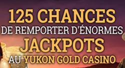 Yukon Gold - 125 tours de 30 cents au Mega Moolah