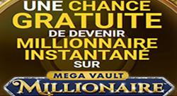 Casino Classic - 1 tour gratuit Mega Vault Millionaire