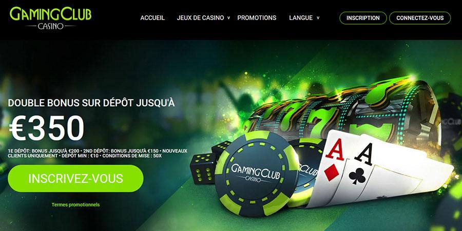 Gaming Club – le casino en ligne modèle de Digimedia