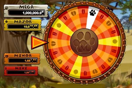 Le jackpot bonus se déclenche plus souvent en pariant 25 pièces par tour