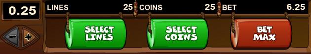Les paris max de 25 pièces - Les trucs des gagnants