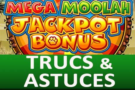 Meilleures astuces Mega Moolah et trucs de la roue du jackpot