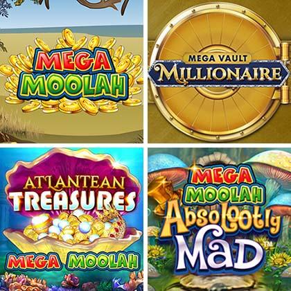 Versions du Mega Moolah