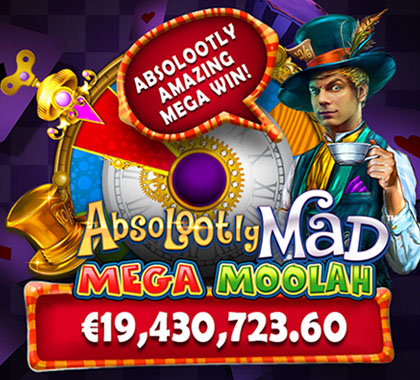 Jackpot record mondial Absolootly Mad en 2021