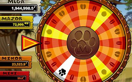 Mega Moolah Wheel of Fortune