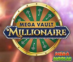 Mega Vault Millionaire - Free spin on the Mega Moolah Jackpot Wheel