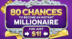 Zodiac Casino Mega Moolah - 2000% bonus
