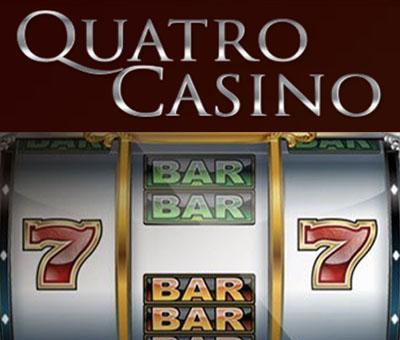 Quatro Casino - 70 free spins and 100% match bonus