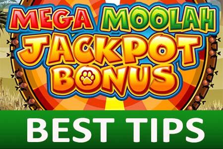 Mega Moolah jackpot best bonus tips