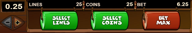 Max bets of 25 coins - Winners' tricks