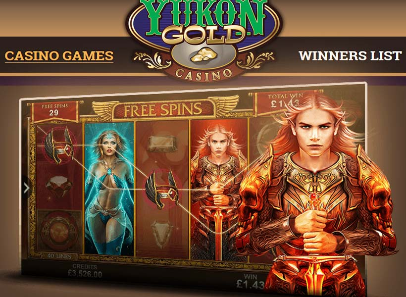 Yukon Gold - bet on the slots ready to dish out a jackpot