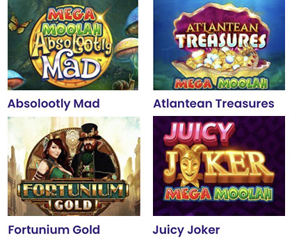 Wildz Casino Mega Moolah serie